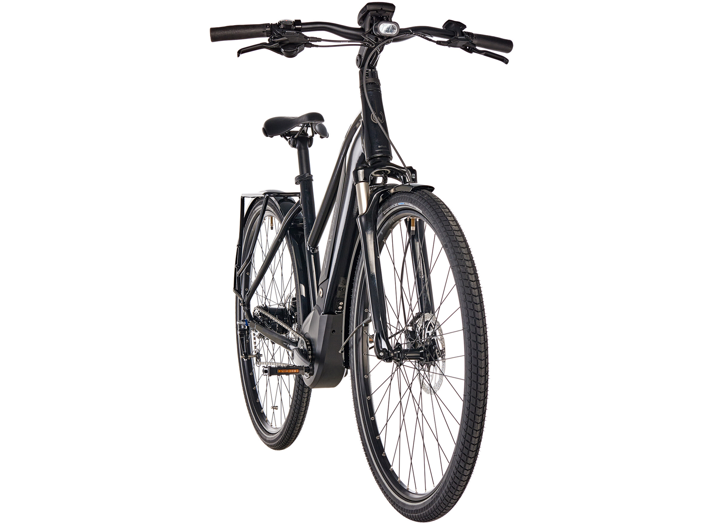 8d945a9d4d0 Winora Sinus iN8 Urban E-City Bike Women black at Bikester.co.uk
